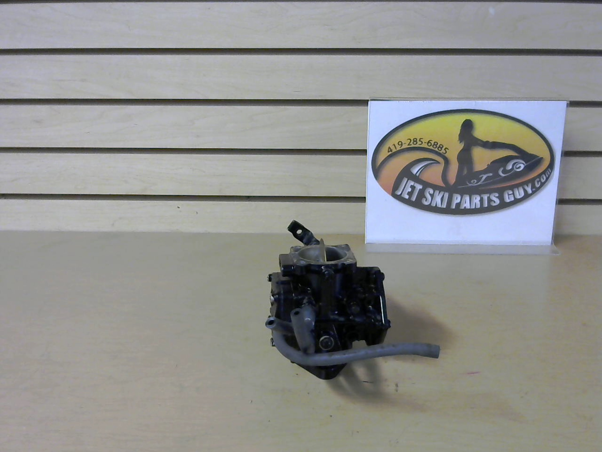 1993 Yamaha Waverunner 3 650RA Carburetor Assembly 6R8-14301-02-00 - Used  Jetski Parts - jetskipartsguy com