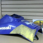 1996 Kawasaki STS 750 Handle Pole Cover Violet  1996STS750POLECOVER