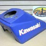 1993 Kawasaki TS 650 Handle Tower Cover Blue 14024-3758-TR