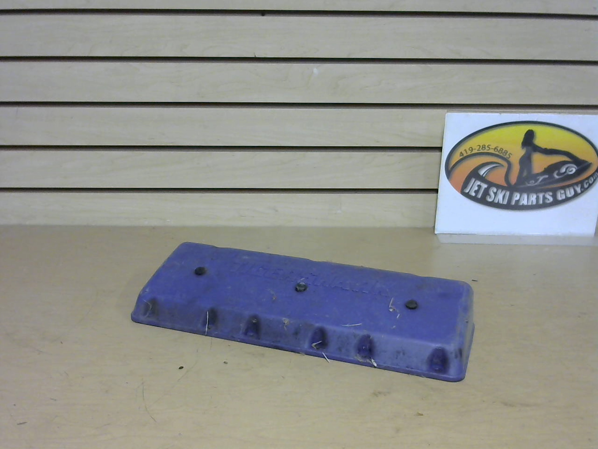 1997 Tigershark Daytona 1000 Sound Attenuater Cover Purple Intake 1673-332