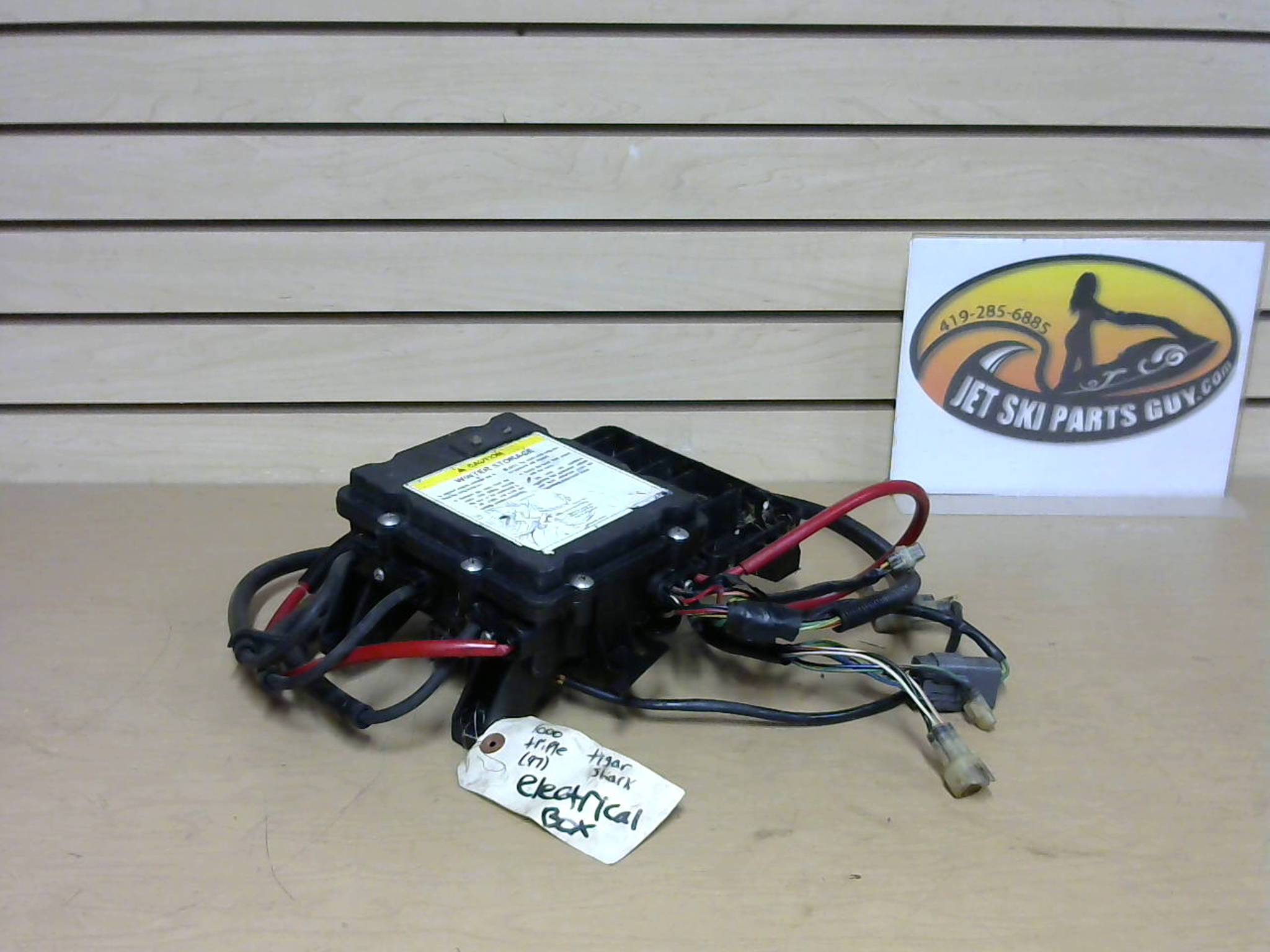 1997 Tigershark Daytona 1000 Tested OEM CDI Electrical Box Assembly 3008-281