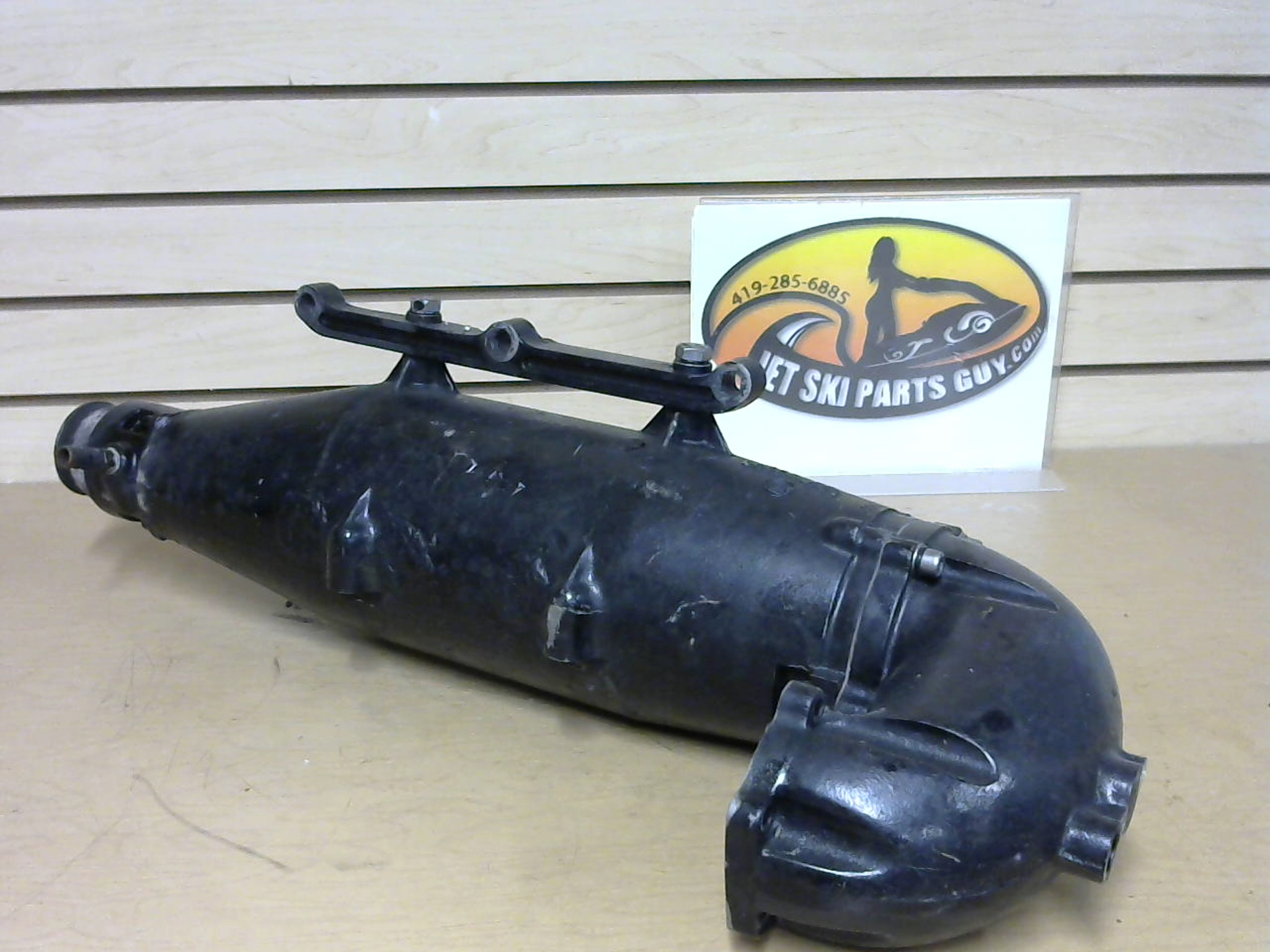 1997 Tigershark Monte Carlo 900 Exhaust Expansion Chamber Head Pipe Manifold 0612-651 0612-653