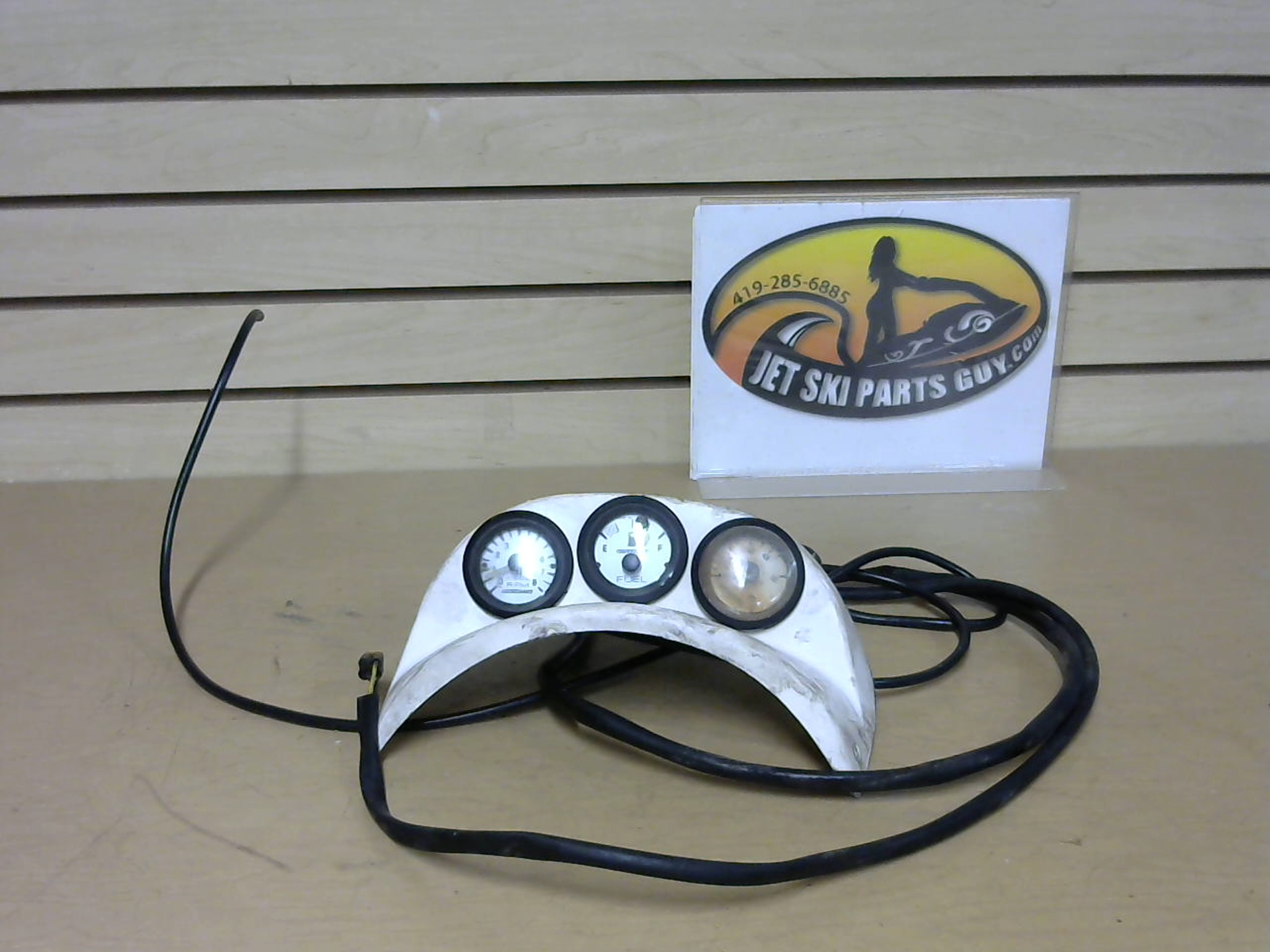 1997 Tigershark Monte Carlo 900 Instrument Panel MPH and Fuel 0673-919 0620-188 0620-172