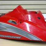 2005 Yamaha VX 110 Deluxe Red Engine Hatch Cover F1K-U516N-02-P0 F1K-U516N-03-P0