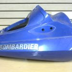 2001 Seadoo RX DI 947 Metallic Blue Engine Hood Cover - some tabs missing 269500891