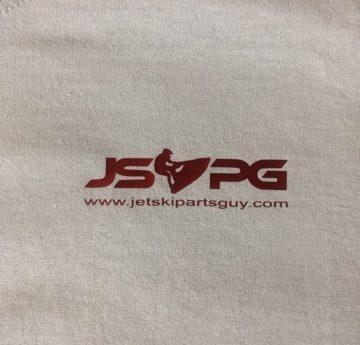 JSPG T-Shirt Red Pocket Logo