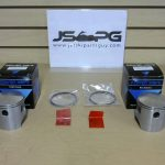 OE Power Wave Seadoo Piston Set with Rings 580 Standard  290996305