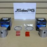 OE Power Wave Seadoo Piston Set with Rings 580 cc 0.5 290996307