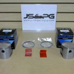 OE Power Wave Seadoo Piston Set with Rings 580 cc 1 290996305-1