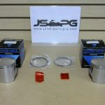 OE Power Wave Seadoo Piston Set with Rings 650 Standard  290887060