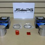 OE Power Wave Seadoo Piston Set with Rings 650 cc 0.5 290887062