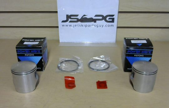 OE Power Wave Seadoo Piston Set with Rings 650 cc 1 290887060-1